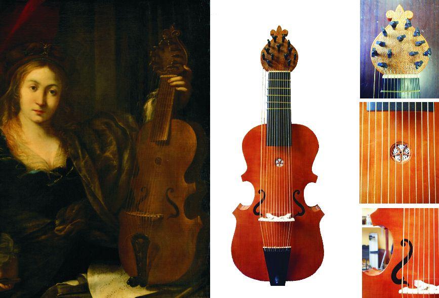 Intrumentos del barroco, taller de luthería, Ander Arroitajauregi